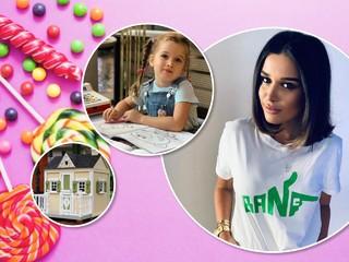 Маленькая хозяйка большого домика: дочь Ксении Бородиной радуется новоселью