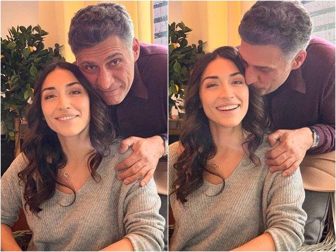 Тигран Кеосаян со старшей дочерью Александрой