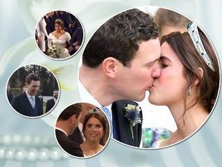 Принцесса Евгения опубликовала трогательный фильм со свадьбы к первой годовщине