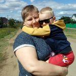 моя любимая свекровь и сынок Артёмка!!