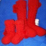 Шикарные носочки, связаны из
