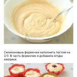 Кекс на молоке. Рецепт