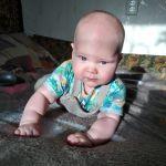 Аннушке 5 месяцев .Время