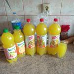 Сок-Лимонад собственного изготовления.