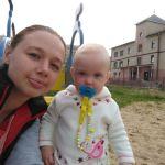 Гуляем с дочей