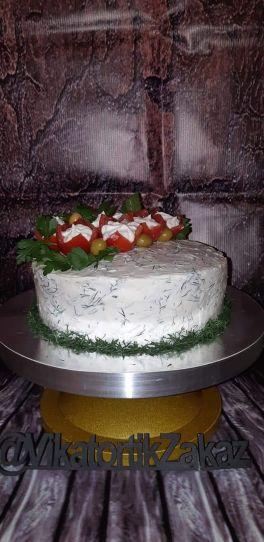 Девулички -мамулички торт может