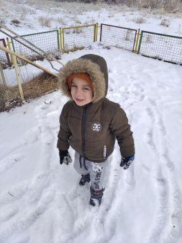 Наконец-то снег 🌨️