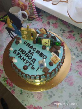 Первый мой торт, вернее