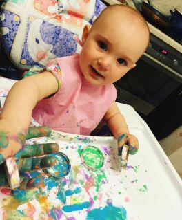 Наше творчество с дочей