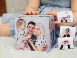 Дарите воспоминания: как сделать фотокубик своими руками