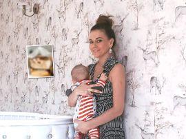 Татьяна Терешина показала необычную деревянную кроватку сына