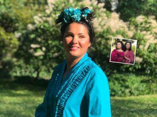 Словно двойняшки: Анна Нетребко показала старшую сестру, с которой они очень похожи