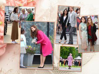Вид сверху: какая высота каблуков у Кейт Миддлтон, Меган Маркл, королевы Елизаветы II и других королевских особ