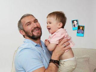 На кого похож больше? Анастасия Шубская и Александр Овечкин сравнили свои фото и снимки старшего сына в одном возрасте