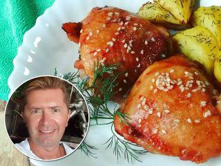 Ароматные куриные бедрышки: Александр Селезнев поделился фирменным рецептом