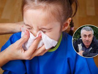Доктор Комаровский пояснил, как нельзя лечить насморк