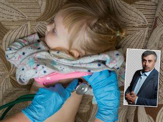Маме нужно знать: доктор Комаровский рассказал о профилактике пневмонии у детей