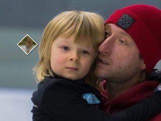 Разносторонний мальчик: сын Евгения Плющенко осваивает новый вид спорта вместе с папой
