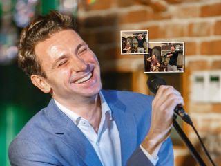 «Макарена» по наследству: актер Антон Хабаров учит дочь танцам его «молодости»