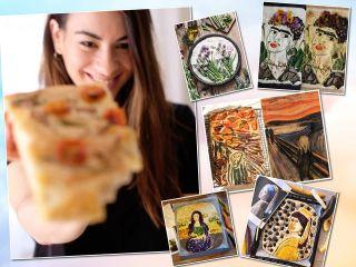 Не хлеб, а искусство: кулинары повторяют шедевры мировой живописи в флешмобе #focacciaart