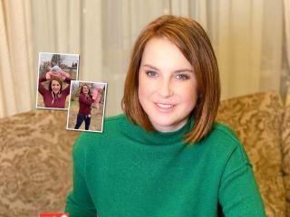 Фитнес с удовольствием: Ирина Слуцкая с 4-месячной дочкой показали упражнения, которые понравятся мамам с детьми