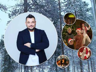 В гости к Санта-Клаусу: Сергей Жуков с женой и детьми путешествует по Лапландии