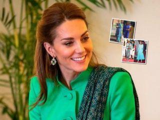 Очень деликатно: Кейт Миддлтон вдохновилась образами принцессы Дианы для тура в Пакистан
