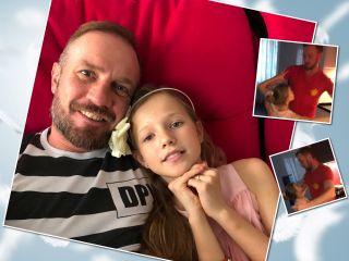 Вальс с любимой принцессой: Роман Костомаров восхитил поклонников танцем с 9-летней дочкой
