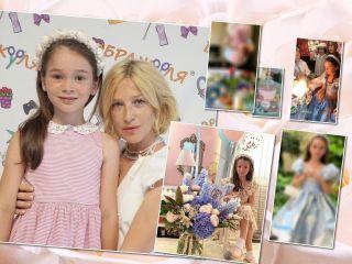 Принцесса и волшебный торт: Ирина Гринева показала кадры с празднования дня рождения дочери
