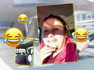 Забыла: мама поделилась веселым видео после того, как поняла, что поехала в школу без детей