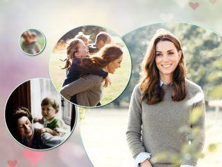 Забавные кадры: как Кейт Миддлтон и другие королевские мамы играют с детьми в «лошадку»