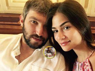 Снова мальчик: Александр Овечкин и Анастасия Шубская показали новорожденного сына из роддома