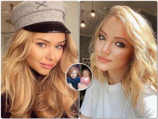 Словно близнецы: Инна и Стефания Маликовы показали свои детские снимки, и их не отличить друг от друга