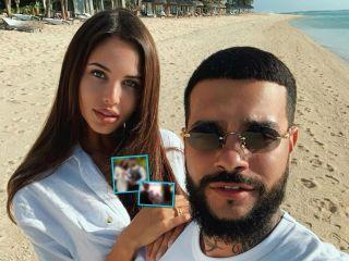 Семейный альбом: Тимати и Анастасия Решетова снялись в романтической фотосессии с сыном