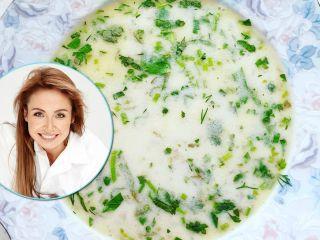 Совсем не как в детском саду: Ляйсан Утяшева поделилась семейным рецептом пряного молочного супа