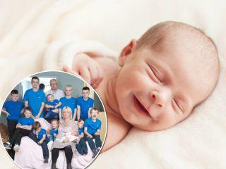 Мечты исполняются: у мамы 10 сыновей наконец-то родилась дочь!