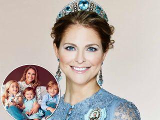 За четвертым: принцесса Мадлен через год после рождения третьего ребенка вновь собирается стать мамой