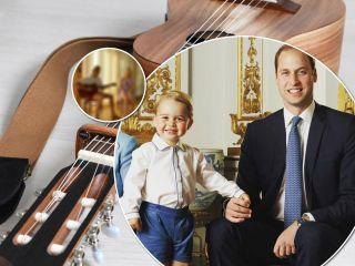 Еще один гитарист: крестник принца Уильяма может давать уроки музыки его первенцу