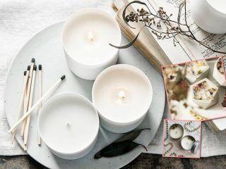 Что-то новенькое: сделайте соевую свечу своими руками