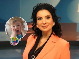 Художник растет: внук Екатерины Стриженовой нарисовал картину... без помощи рук
