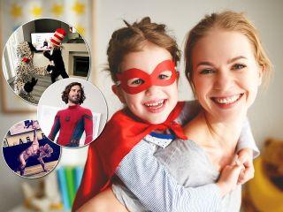 Команда супергероев: родители устроили веселый флешмоб с детьми на карантине