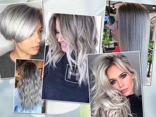 Пепельный блонд: 80 фото популярного окрашивания