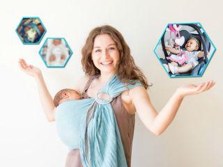 Свобода! 5 предметов, которые помогут родителям новорожденного быть мобильнее