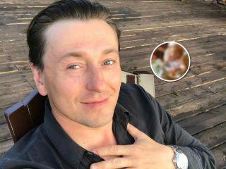 «Маленький Я»: Сергей Безруков впервые показал лицо младшего сына