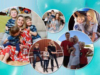 Одни мальчишки: 10 звездных мам, которые воспитывают только сыновей