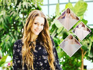 «Хочу быть королевной»: Глафира Тарханова выбирает свадебное платье