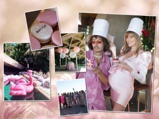 Это девочка: модель Марина Линчук показала фото с вечеринки в честь будущего ребёнка