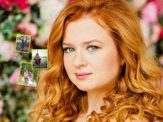 На руках у мамы: Екатерина Копанова поделилась своими детскими снимками из семейного архива