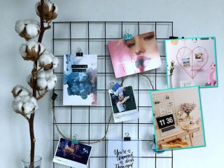 Модная деталь в интерьере: делаем доску-решетку для вдохновения и хорошего настроения