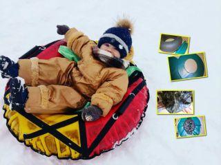Инструкция: делаем тюбинг для катания с горок своими руками